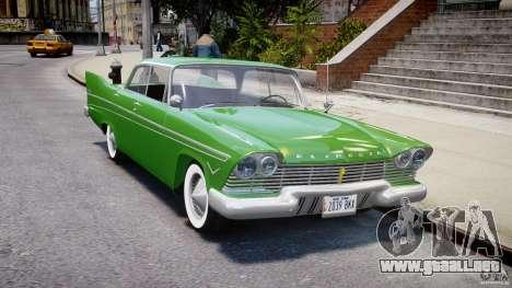 Plymouth Belvedere 1957 v1.0 para GTA 4 vista interior