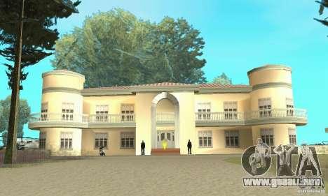 Una Villa para GTA San Andreas tercera pantalla