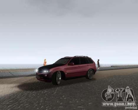 BMW X5 Sport Tun para GTA San Andreas left