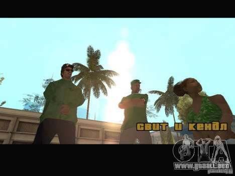 New Sweet, Smoke and Ryder v1.0 para GTA San Andreas octavo de pantalla