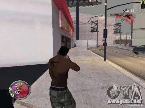Nueva zona GANGSTER para GTA San Andreas twelth pantalla