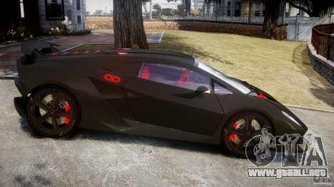 Lamborghini Sesto Elemento 2013 V1.5 para GTA 4 left