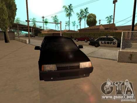 VAZ 21099 Limousine para visión interna GTA San Andreas