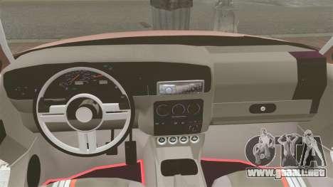 Volkswagen Golf MK3 Turbo para GTA 4 vista lateral
