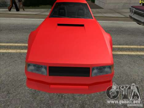 Colores más brillantes para los coches para GTA San Andreas segunda pantalla
