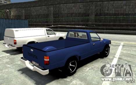Toyota Hilux 1989-1993 Single cab v1 para GTA 4 visión correcta
