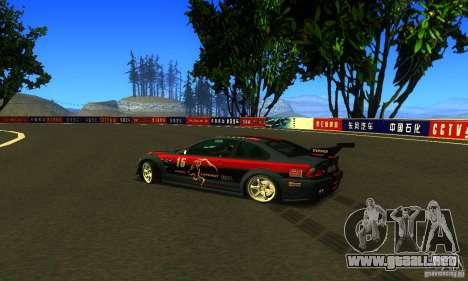 F1 Shanghai International Circuit para GTA San Andreas sucesivamente de pantalla