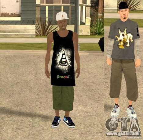 Cone Crew Skin para GTA San Andreas segunda pantalla