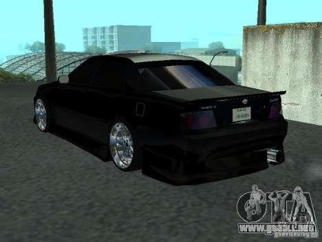 Toyota Chaser JZX 100 Tunable para la visión correcta GTA San Andreas