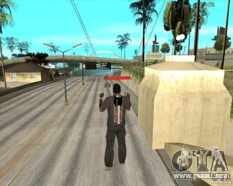 Pilas Energizer para GTA San Andreas sucesivamente de pantalla