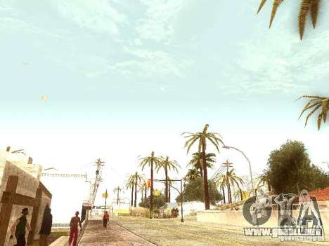 Nuevo Enb series 2011 para GTA San Andreas quinta pantalla
