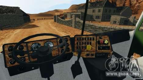 Ford CL9000 v1.5 para GTA 4 visión correcta