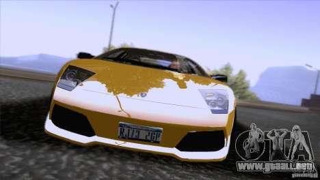 Lamborghini Murcielago LP640 2006 V1.0 para visión interna GTA San Andreas