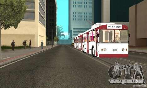 ZiU 682G para la visión correcta GTA San Andreas