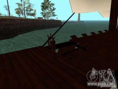 XVIII Century Battleship para la visión correcta GTA San Andreas