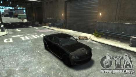 Dodge Charger Fast Five para GTA 4
