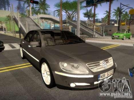 Volkswagen Phaeton W12 para GTA San Andreas left