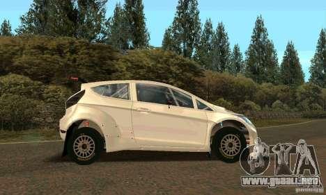 Ford Fiesta Rally para las ruedas de GTA San Andreas
