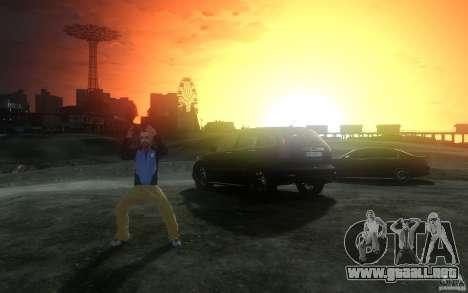 Pantallas de menú y arranque de Liberty City en  para GTA San Andreas octavo de pantalla