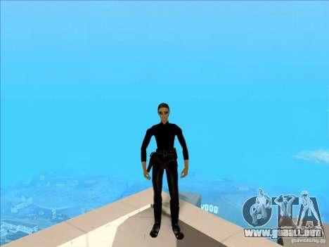 Matrix Skin Pack para GTA San Andreas tercera pantalla