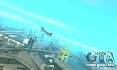 La revitalización de los aeropuertos para GTA San Andreas sucesivamente de pantalla