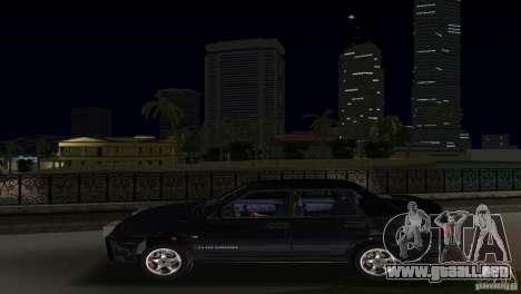 VAZ 21099 DeLuxe para GTA Vice City visión correcta