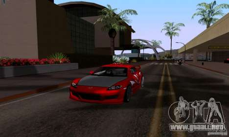 Mazda RX-8 Speed para la visión correcta GTA San Andreas
