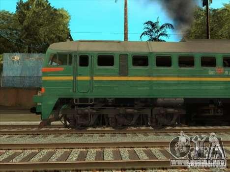 Carga Estados bálticos locomotora ferroviaria fo para la visión correcta GTA San Andreas