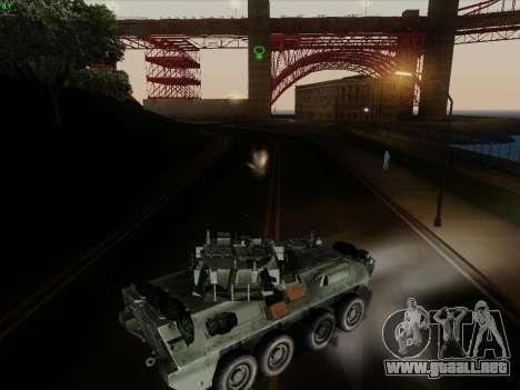 LAV-25 para la vista superior GTA San Andreas