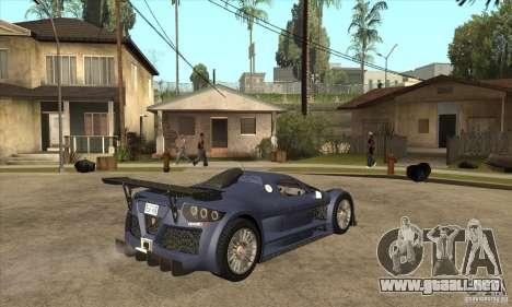 Gumpert Apollo Sport para la visión correcta GTA San Andreas