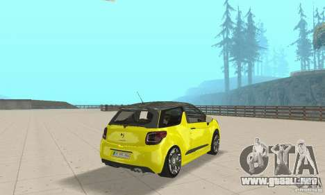 Citroen Ds3 Sport 2011 para GTA San Andreas left