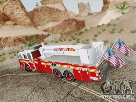 Seagrave Marauder. F.D.N.Y. Tower Ladder 186 para GTA San Andreas