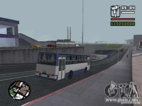 Ikarus 260.27 para GTA San Andreas vista hacia atrás