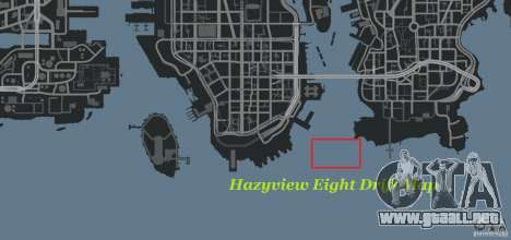 Hazyview Eight Drift Map para GTA 4 sexto de pantalla