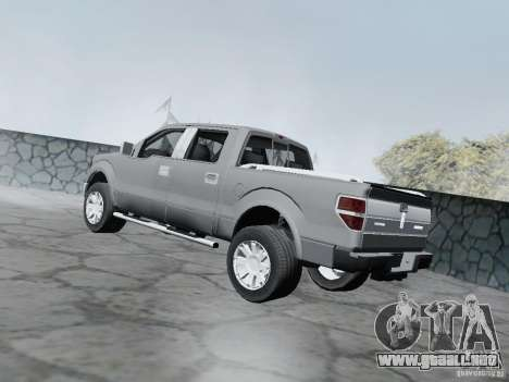 Lincoln Mark LT 2013 para GTA San Andreas left