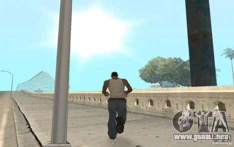 The best effects from GTA IV para GTA San Andreas segunda pantalla