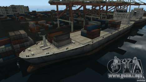 Tokyo Docks Drift para GTA 4 adelante de pantalla