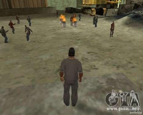 Barney sin hogar para GTA San Andreas