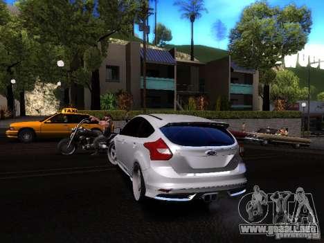 Ford Focus 2012 ST para la visión correcta GTA San Andreas