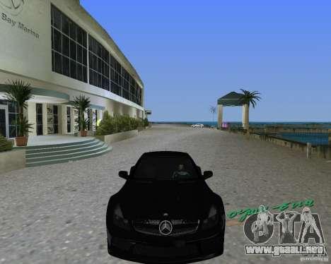 Mercedess Benz SL 65 AMG Black Series para GTA Vice City vista lateral izquierdo