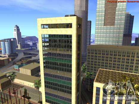 20th floor Mod V2 (Real Office) para GTA San Andreas tercera pantalla