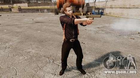 Ryan Reynolds (Nick Walker) para GTA 4 adelante de pantalla