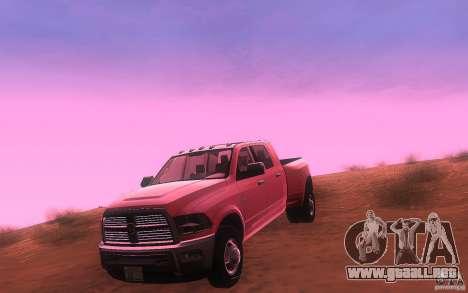 Dodge Ram 3500 Laramie 2010 para GTA San Andreas