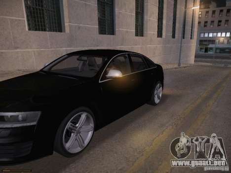 Audi RS6 2009 para GTA San Andreas interior