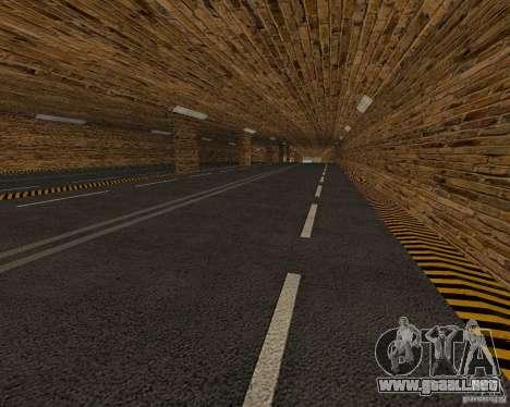 Nuevos caminos para GTA San Andreas sucesivamente de pantalla