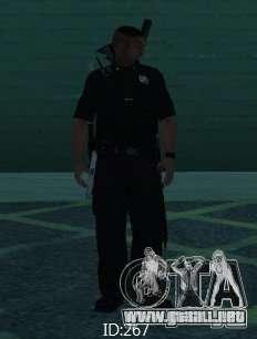 Nuevos aspectos SAPD para GTA San Andreas sucesivamente de pantalla