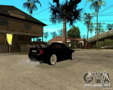 Skoda Superb HARD GT Tuning para GTA San Andreas vista hacia atrás