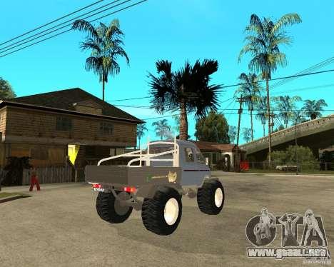 GAS KeržaK (Swamp Buggy) para GTA San Andreas vista posterior izquierda