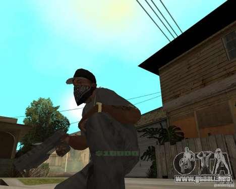 Desert Eagle de CoD: MW2 para GTA San Andreas segunda pantalla