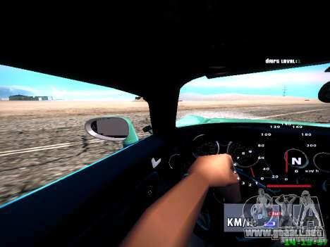 Pontiac Solstice Falken Tire para la vista superior GTA San Andreas